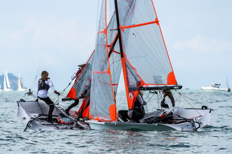 29er - Predictwind Auckland Girls Championships - March 23, 2019 - photo © Richard Gladwell