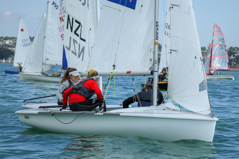 420 - Predictwind Auckland Girls Championships - March 23, 2019 - photo © Richard Gladwell