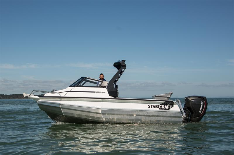 The Evinrude E-Tec 150 powers the Stabicraft 1850 Fisher - photo © Evinrude NZ