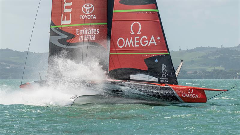 Emirates Team New Zealand expect to have their AC75 Te Aihe back in New Zealand in early-mid June, 2020 photo copyright Emirates Team New Zealand taken at Royal New Zealand Yacht Squadron and featuring the AC75 class