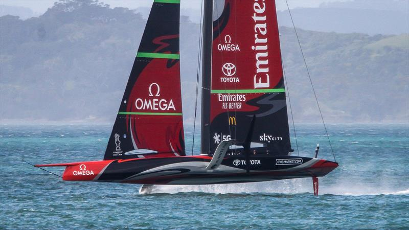 Emirates Team New Zealand - Waitemata Harbour - September 18, 2020 - 36th America's Cup - photo © Richard Gladwell / Sail-World.com