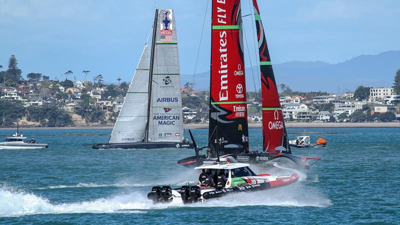 Emirates Team New Zealand - Waitemata Harbour - September 22, 2020 - 36th America's Cup - photo © Richard Gladwell / Sail-World.com