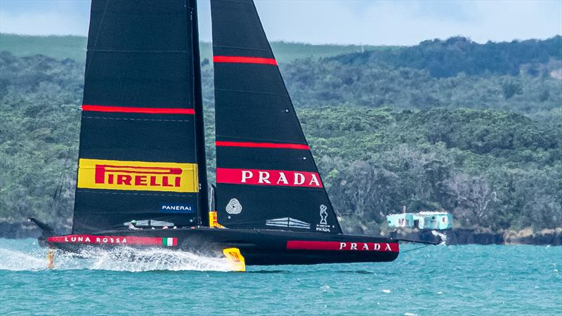 Luna Rossa Prada Pirelli - November 8 - Waitemata Harbour - Auckland - 36th America's Cup - photo © Richard Gladwell / Sail-World.com