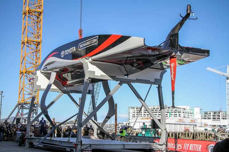 Emirates Team New Zealand launch Te Rehutai - November 18, 2020 - photo © Richard Gladwell / Sail-World.com