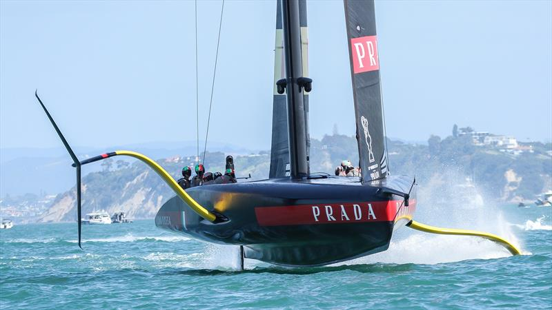 Luna Rossa - America's Cup World Series - Day 3 - Waitemata Harbour - December 19, 2020 - 36th Americas Cup presented by Prada - photo © Richard Gladwell / Sail-World.com