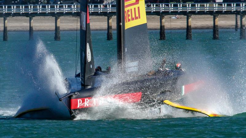 Luna Rossa - Waitemata Harbour - January 6, 2020 - 36th America's Cup - photo © Richard Gladwell / Sail-World.com