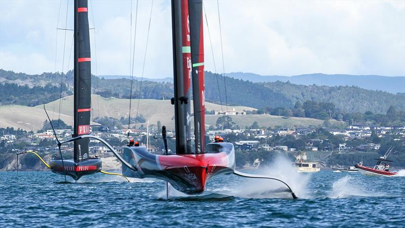 Emirates Team NZ - America's Cup - Day 5 - March 15, 2021, Course E - photo © Richard Gladwell / Sail-World.com