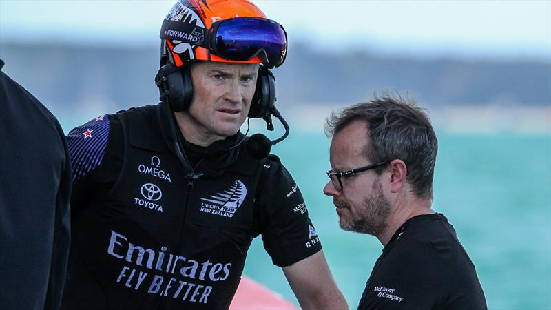 Emirates Team NZ - America's Cup - Day 5 - March 15, 2021 , Course E - photo © Richard Gladwell / Sail-World.com