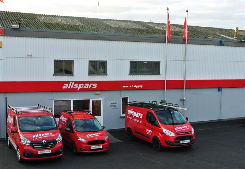 The Allspars offices in Plymouth photo copyright Allspars taken at  and featuring the  class
