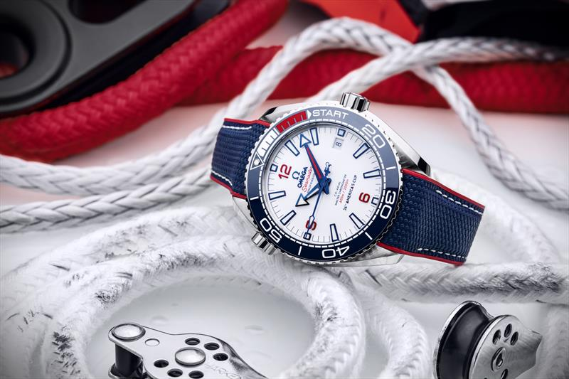 Omega will celebrate their involvement in the 36th America's Cup with a brand new Limited Edition timepiece - photo © Omega