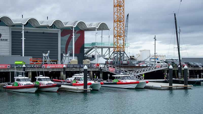 Emirates Team NZ - America's Cup Bases - Auckland - June 16, 2020 - photo © Richard Gladwell / Sail-World.com