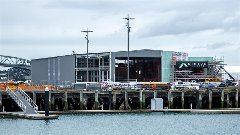 INEOS Team UK base - America's Cup Bases - Auckland - June 16, 2020 - photo © Richard Gladwell / Sail-World.com