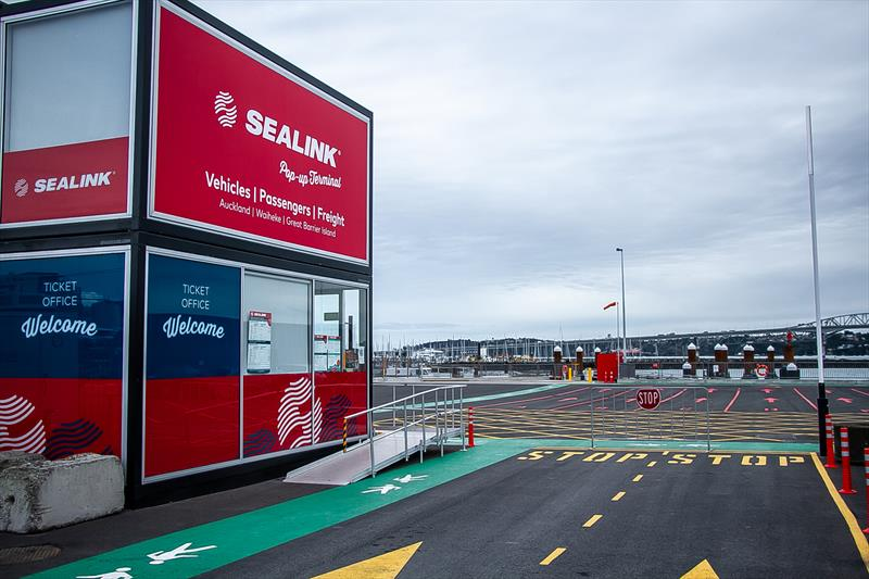 New Sealink terminal - America's Cup Bases - Auckland - June 16, 2020 - photo © Richard Gladwell / Sail-World.com