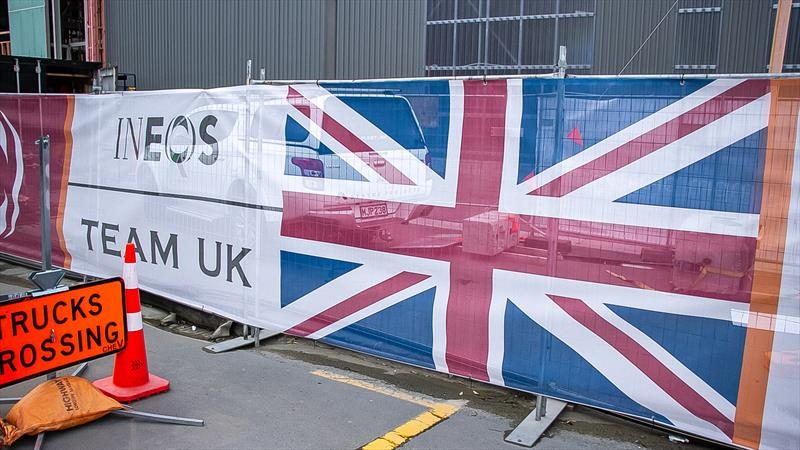 INEOS Team UK - America's Cup Bases - Auckland - June 16, 2020 - photo © Richard Gladwell / Sail-World.com