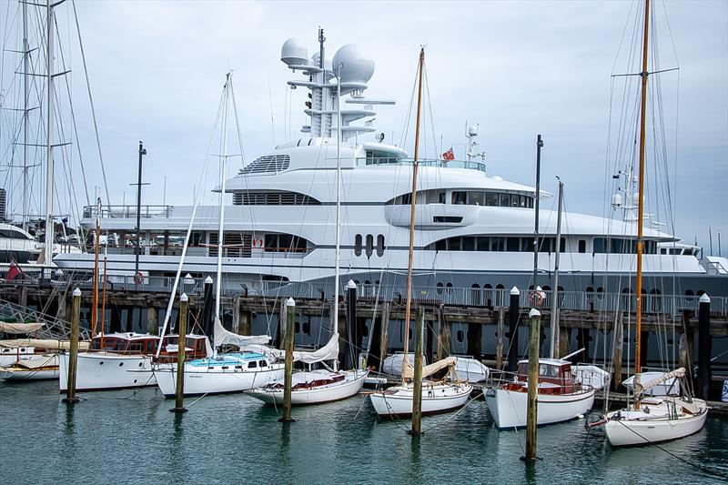 Classic yacht fleet - America's Cup Bases - Auckland - June 16, 2020 - photo © Richard Gladwell / Sail-World.com