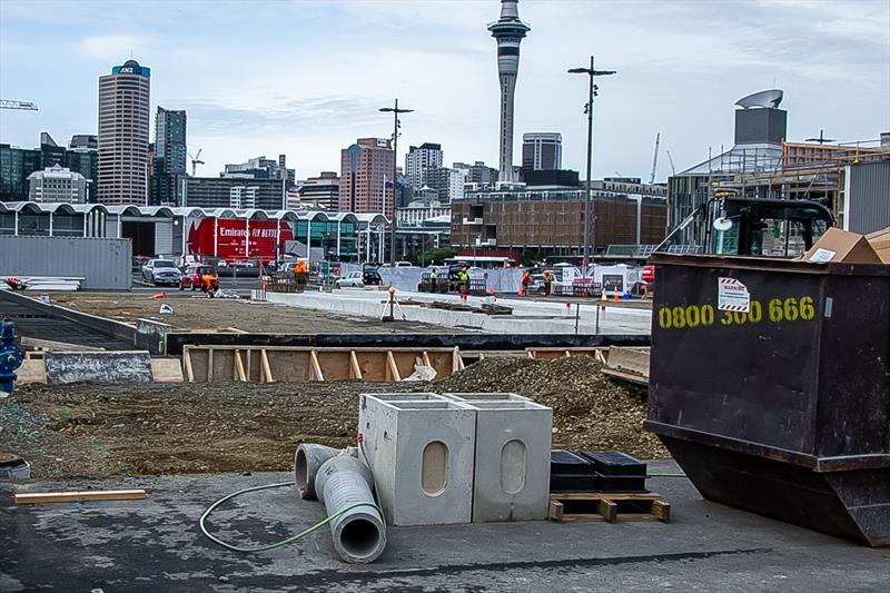 American Magic- America's Cup Bases - Auckland - June 16, 2020 - photo © Richard Gladwell / Sail-World.com