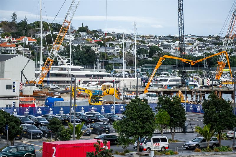 Site 18/Orams Village superyacht facility- America's Cup Bases - Auckland - June 16, 2020 - photo © Richard Gladwell / Sail-World.com