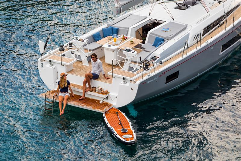 Beneteau Oceanis 46.1 photo copyright Groupe Beneteau taken at  and featuring the Beneteau class