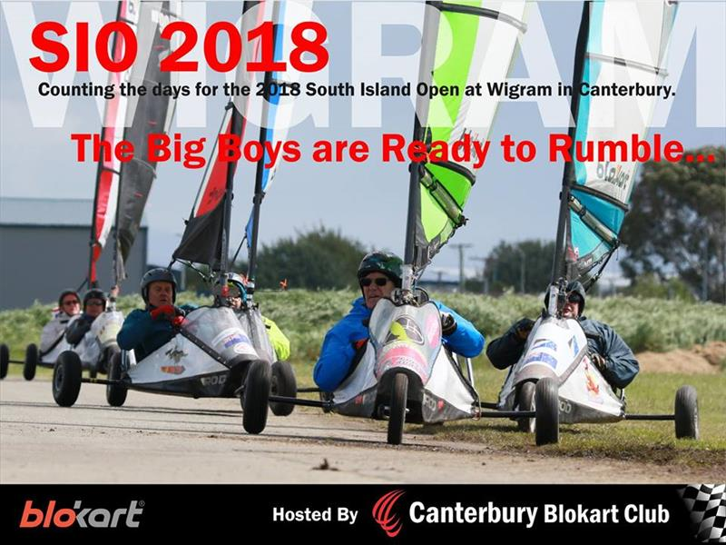 The South Island Blokart Championships will be sailed at Wigram Airfield, Christchurch - photo © SI Blokart