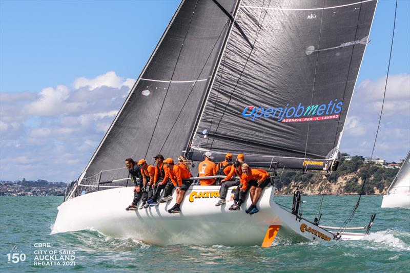 CBRE City of Sails Auckland Regatta - March 2021 - photo © Andrew Delves