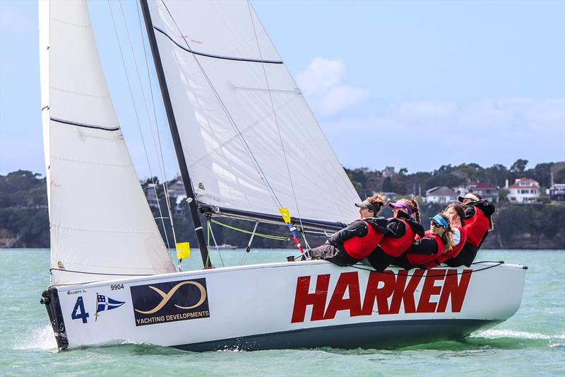 Megan Thomson - 2.0 Women's Match Racing - photo © Andrew Delves RNZYS