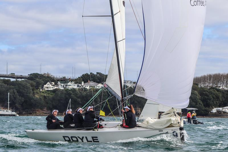 Final day - New Zealand Womens Match Racing Championships - Royal New Zealand yacht Squadron - September 13, 2020 - photo © Andrew Delves