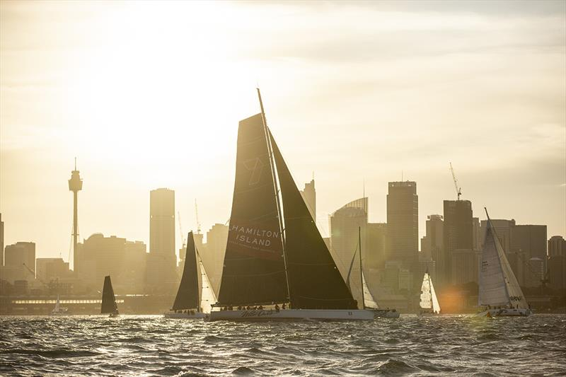 Wild Oats XI is the race record holder and will battle with two other super maxis in the Cabbage Tree Island Race - photo © CYCA