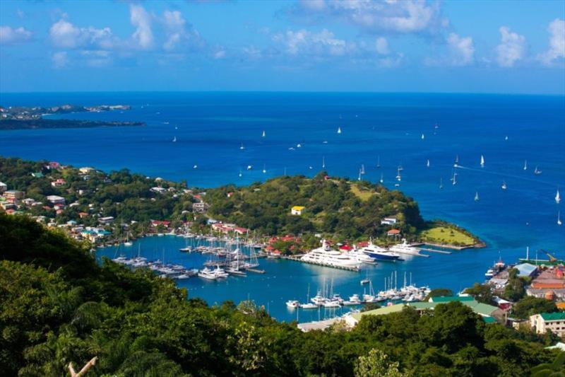 A warm Spice Island welcome is waiting for the RORC Transatlantic Race fleet photo copyright Camper & Nicholsons Port Louis Marina, Grenada taken at Royal Ocean Racing Club and featuring the IRC class
