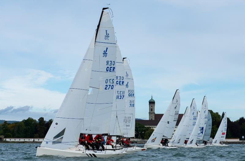 J70 race on Lake Constance during the 2nd Antigua Barbuda Challenge - photo © Antigua Sailing Week