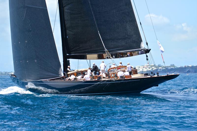J Class, Superyacht Regatta, Bermuda, June 2017 - photo © Richard Gladwell