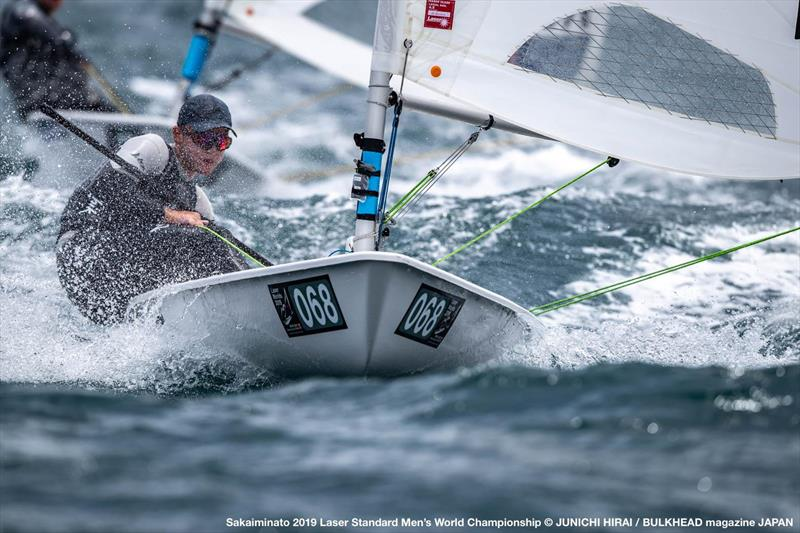 George Gautrey (NZL)  - Day 2, World Laser Championship, Sakaiminato, Japan July 2019 - photo © Junichi Hirai / Bulkhead Magazine Japan