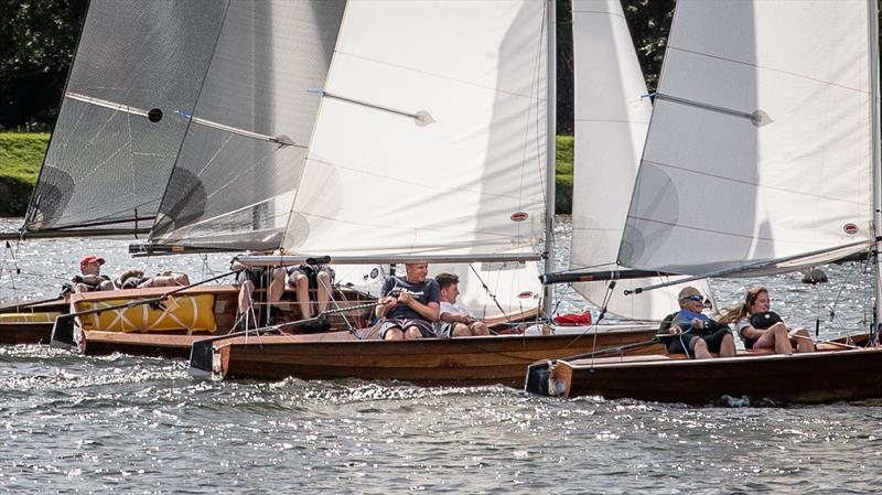 Upper Thames Merlin Rocket Open photo copyright Tony Ketley taken at Upper Thames Sailing Club and featuring the Merlin Rocket class