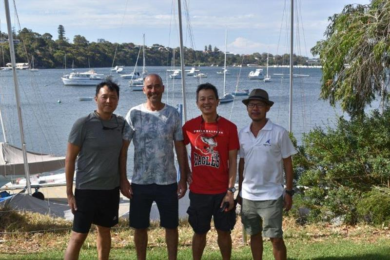 Team Red Lantern from Singapore photo copyright RFBYC taken at Royal Freshwater Bay Yacht Club