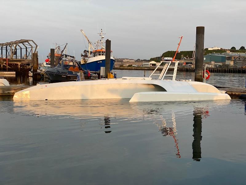 Mayflower Autonomous Ship on the water photo copyright MSUBS Ltd taken at