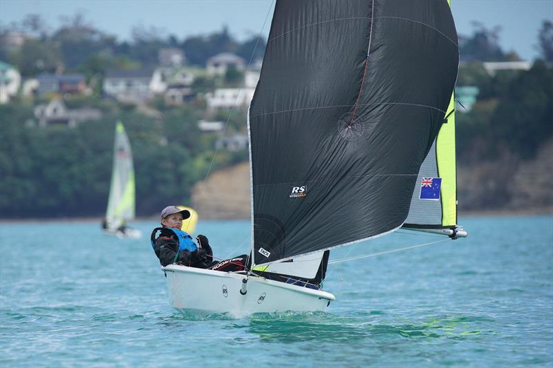 Oskar Masfen - North Island RS Feva Championships at Manly SC, October 2019 - photo © NZ Sailcraft
