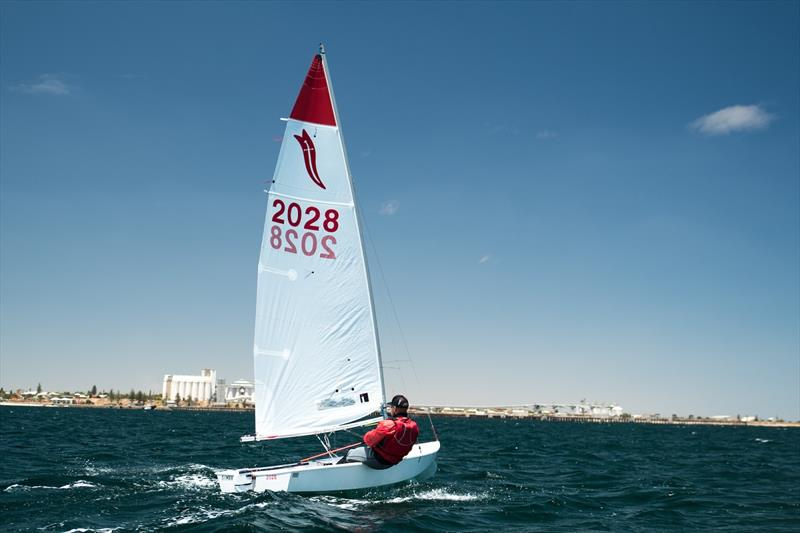 The current Sabre sail at the recent Sabre Nationals in South Australia - photo © Bodhi Stone
