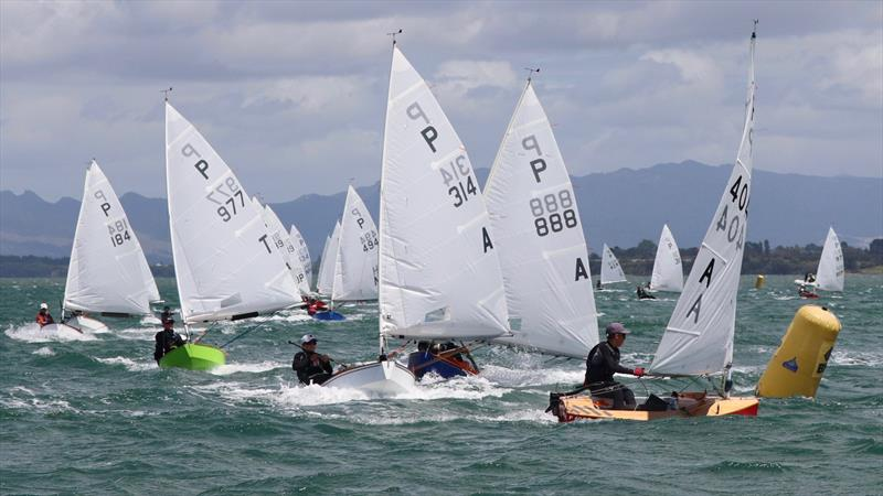 In the 2003 Louis Vuitton Cup over a third of the race days were lost after a 19kt wind limit was set. P class racing in the Tauranga Cup 2020 - photo © William Beauchamp