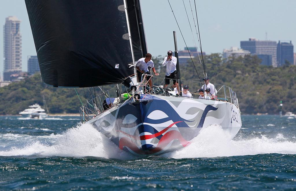 Giacomo (NZL) blasts to the Junction Bell mark off South Head - SOLAS series © Crosbie Lorimer http://www.crosbielorimer.com