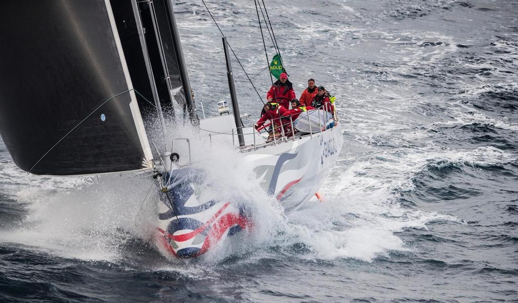 Giacomo (NZ) closes on on the finish of the 2016 Rolex Sydney Hobart © Rolex Sydney Hobart Yacht Race