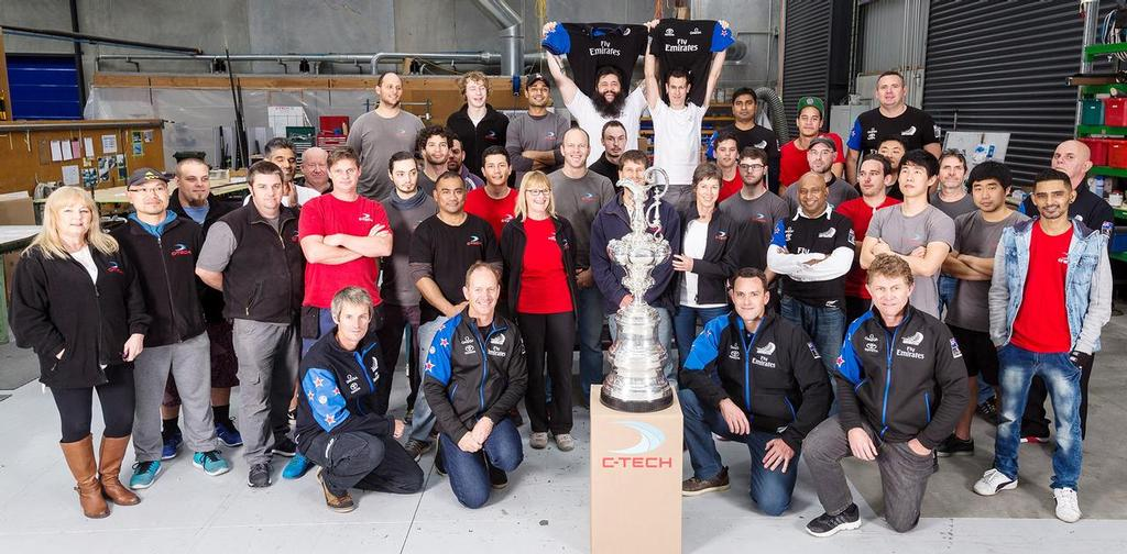 C-Tech have been a long time supplier to America's Cup champions Emirates Team New Zealand © C-TECH http://www.c-tech.co.nz