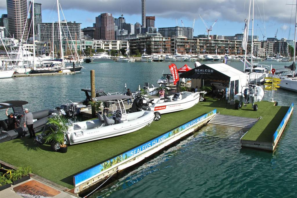Auckland On the Water Boat Show Day - 1, September 28, 2017 © Richard Gladwell www.photosport.co.nz