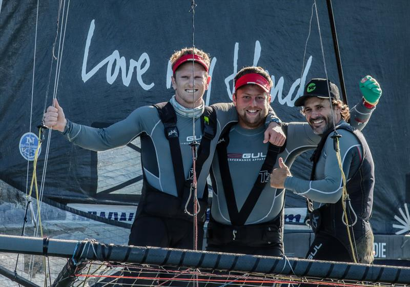 Races 8 & 9 on day 5 the 2020 18ft Skiff JJ Giltinan Championship - photo © Michael Chittenden
