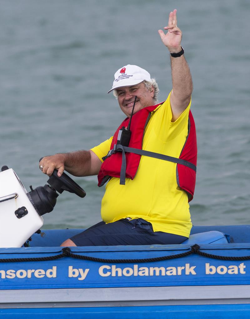 Disabled Sailing Thailand - founder Peter Jacobs - photo © Guy Nowell