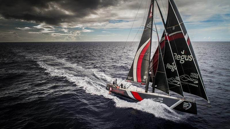 Leg 4, Melbourne to Hong Kong, day 13 Leading the fleet and heading for the home port on board Sun Hung Kai / Scallywag. - photo © Konrad Frost / Volvo Ocean Race